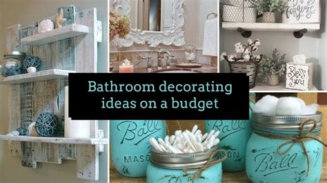 diy bathroom decorating ideas   budget home decor interior design flamingo mango youtube