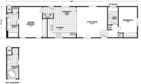 liberty mobile homes floor plans liberty 16 x 64 1000 sqft mobile home factory select homes
