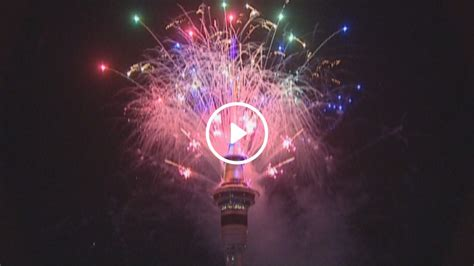 new year 2017 nz happy new year sky tower fireworks display to