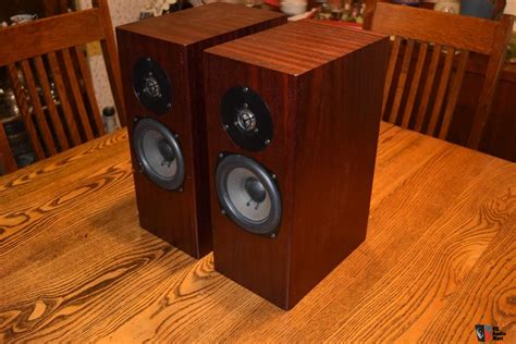 Speaker Totem Rokk totem acoustics rokk pair of speakers mini monitors sequential serial numbers biwireable photo
