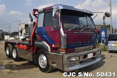 nissan truck for sale 1995 nissan ud truck for sale stock no 50431 japanese