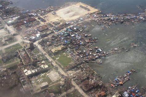 Air Impact Set 1in photos of guiuan eastern samar show yolanda devastation