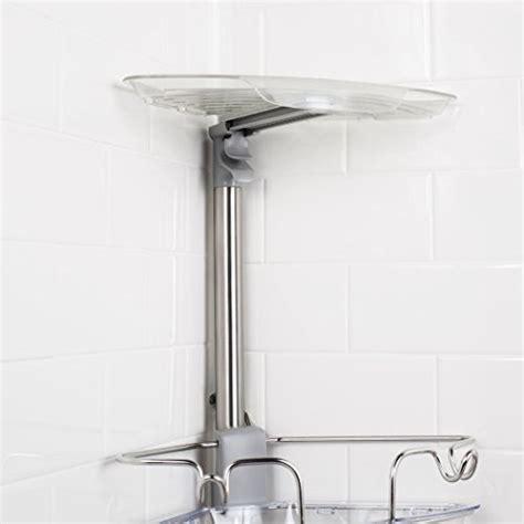 Oxo Shower Shelf by Oxo Grips Stainless Steel Corner Standing Shower