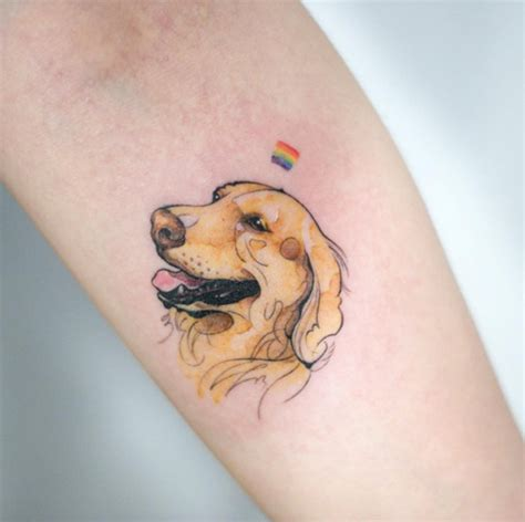 golden retriever tattoo 40 amazing tattoos for tattooblend