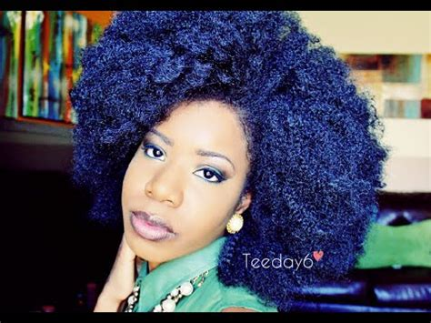 bijoux realistic afro kinky 26 braid out afro puff