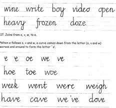 Nelson Writing Pattern English | 1000 images about handwriting on pinterest english