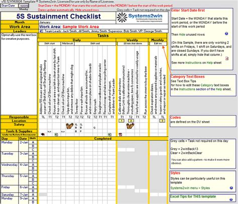 preventive maintenance checklist maintenance schedule
