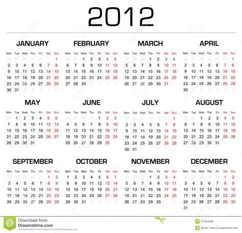 calendario del contribuyente enero 2011 calend 225 rio 2012 ilustra 231 227 o do vetor ilustra 231 227 o de