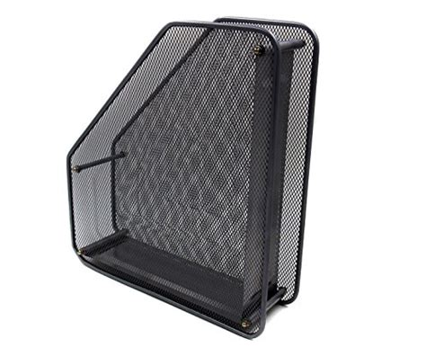 upright paper holder for desk superbpag assemble mesh desk organizer office paper holder
