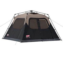 coleman waterproof 6 person family cing instant tent w