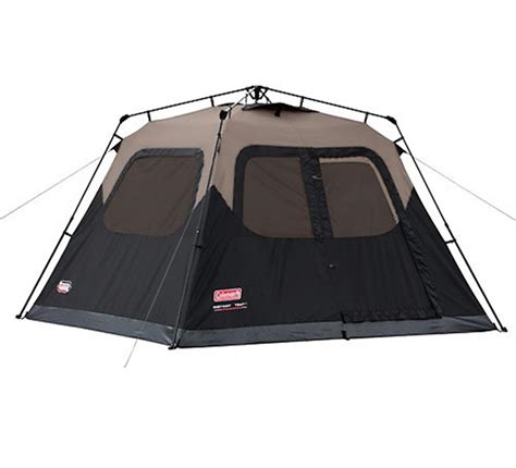 Coleman 10 Person Instant Cabin Tent by Coleman Waterproof 6 Person Family Cing Instant Tent W