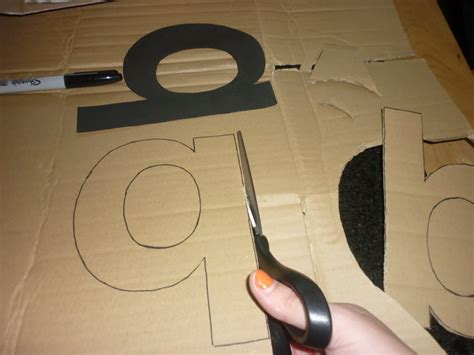 How To Make A Letter Out Of Paper - my type of decor diy 3d letters graphique fantastique