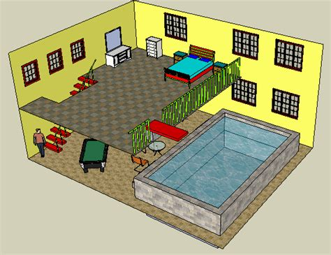 layout sketchup exle project 3dvinci teacher guide for sketchup projects