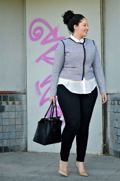 40 plus size curvy girl fashion outfits plus size clothing wears and footwears