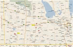 pin map of manitoba on