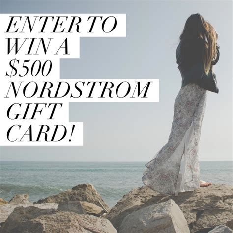 Sell Nordstrom Gift Card - 500 nordstrom gift card giveaway ends 4 26 mommies with cents