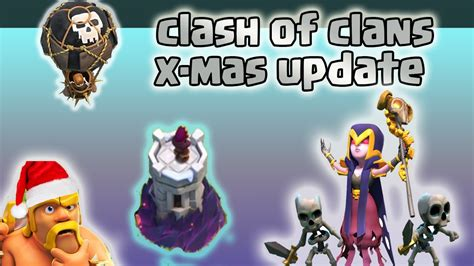 in coc xmas tree in 2016 clash of clans update 2016 coc x tree 2016 winter update