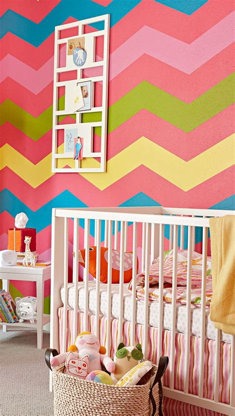 Chevron Room Ideas by Colorful Bedroom Design Chevron Walls