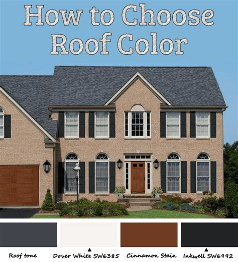 how to choose a house how to pick roof color let hue bias be your guide