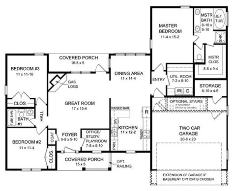 44 Best 1600 Square Foot Plans Images On Pinterest House 1600 Square Foot Ranch House Plans