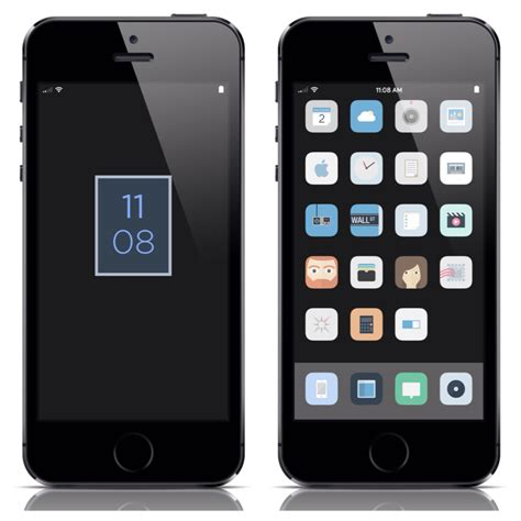 facebook themes cydia nanna ios 7 winterboard theme simpler than any other
