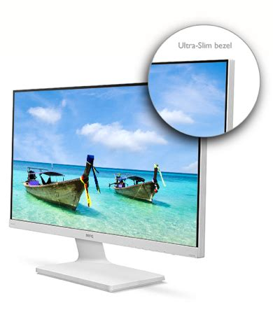 Monitor Led Aoc 156 Inc Berkualitas benq vz2770h 27 quot led hd white monitor