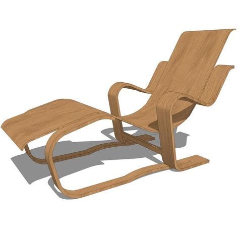 wooden recliner chairs reclining chair 3d model formfonts 3d models textures