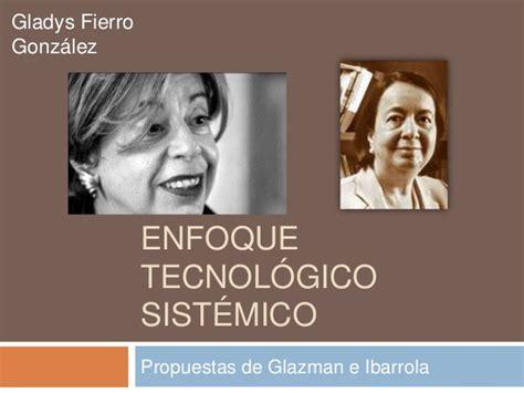 Modelo Curricular De Glazman E Ibarrola enfoque tecnol 243 gico sist 233 mico