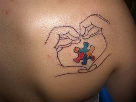 google tattoos autism awareness puzzle www imgkid