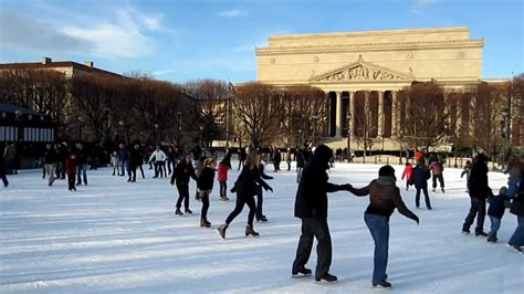 national gallery of sculpture garden rink skating rink washington dc national gallery of