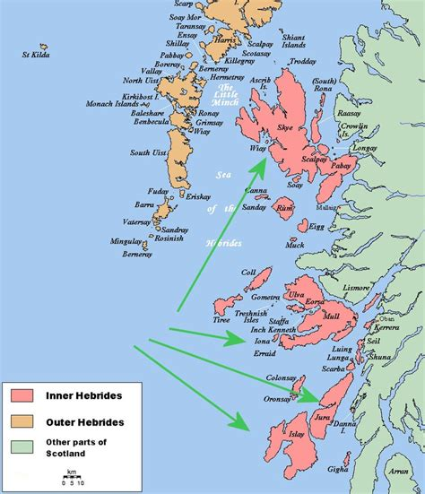 the hebrides by the inner hebrides places i like