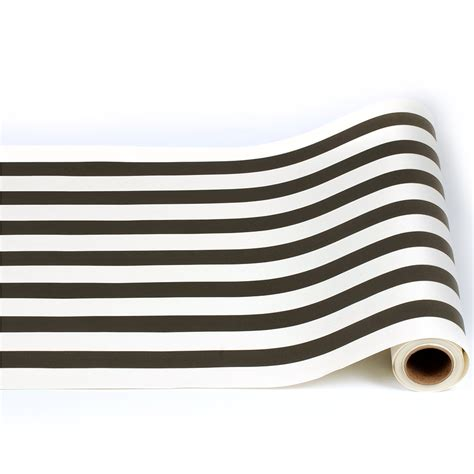 striped paper table runner 20 quot wide