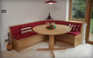 Curved Bench Seating Kitchen Table Upholstered Breakfast Nook With Storage Jofran Cannon Valley Dining Table With Storage Base The