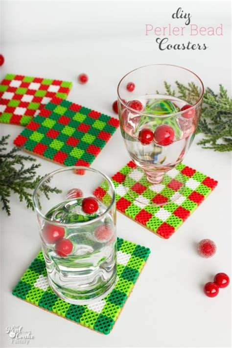 stylish christmas crafts diy coasters a craft or gift idea
