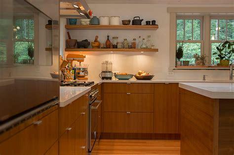 Semi Handmade - teak ikea kitchen contemporary kitchen new york by