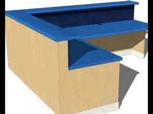 How To Make Reception Desk Build A Reception Desk