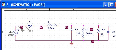 capasitor bank rumahan pspice variable resistor sweep 28 images resistors in pspice simulation youspice modeling