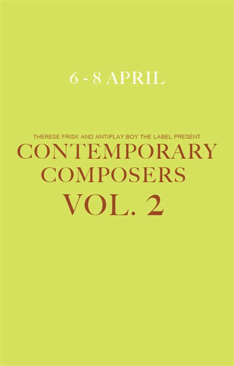 contemporary composers contemporary composers vol 2 akademirommet p 229