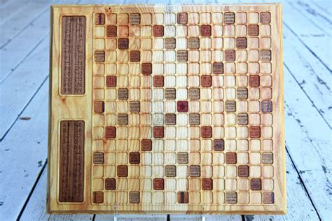 scrabble boards to buy made honey locust scrabble board by bit beam