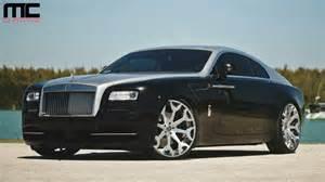 Rolls Royce Wraith On Rims Mc Customs Rolls Royce Wraith 183 Forgiato Wheels