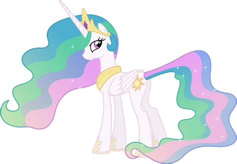 Princess Celestia Looking Behind By 90sigma On Deviantart A Picture Of Princess Celestia