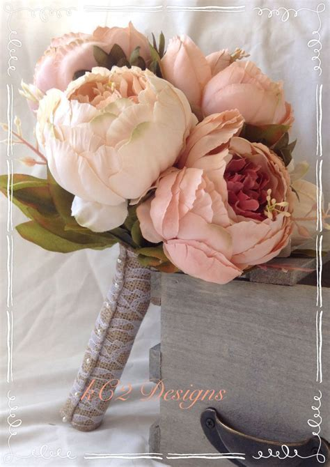 Silk flower wedding bouquet. Silk bouquet. Bridal bouquet