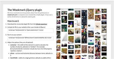 pinterest like layout angularjs 6 jquery plugins to create pinterest like layout jquery