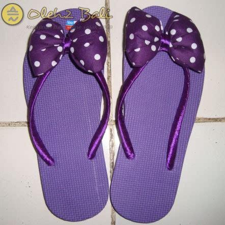 Murah Sendal Pita Bali sandal jepit bali pita ungu oleh2bali kerajinan bali