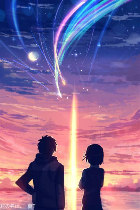 anime kimi no na wa kimi no na wa anime art аниме арт аниме арт anime