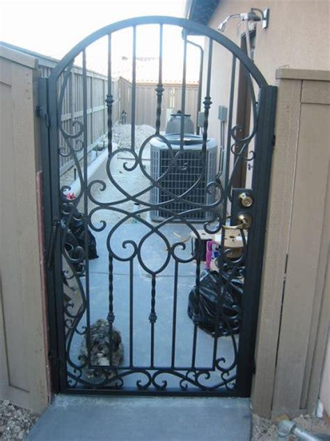 San Diego Patio Custom Decorative Iron Gates