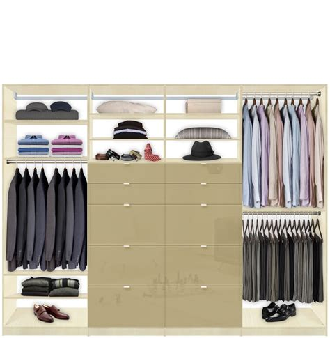 Closet Drawer Systems by Isa Built In Closet System Xl Plenty Of Closet Drawers