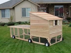 Portable Chicken Tractor Coop Chickens Pinterest » New Home Design