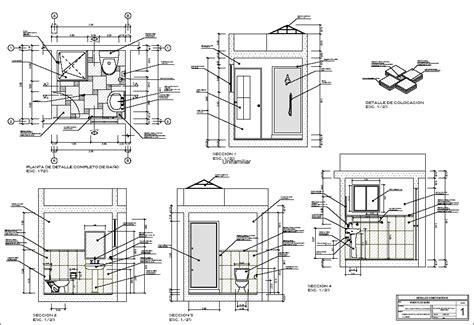 Bathroom Pdf details of bath in pdf document bibliocad
