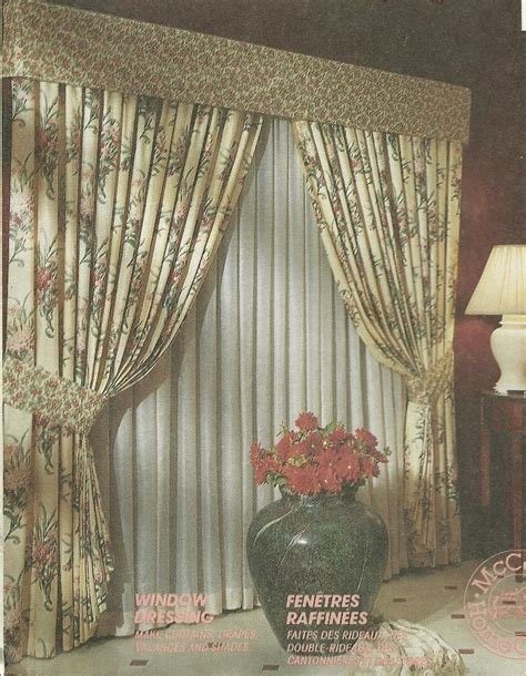 swag curtain patterns mccall s sewing pattern 5778 curtains drapes valance swag